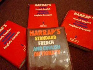 Harrap's French English dictionary
