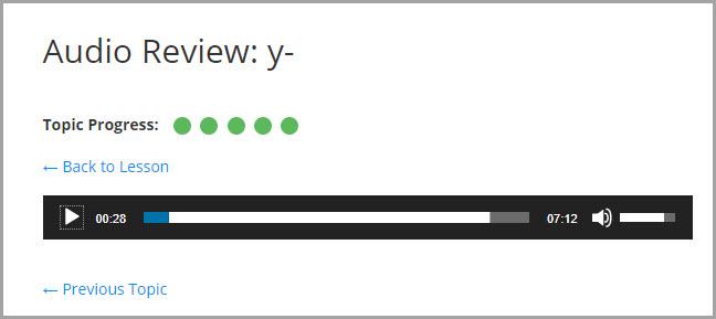 audio review